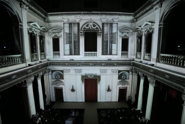 VIDEO MAPPING OPENING AND CLOSING RINASCIMENTO FASHION SHOW 15-16